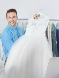 Should I Get My Wedding Dress Cleaned Before My Wedding?