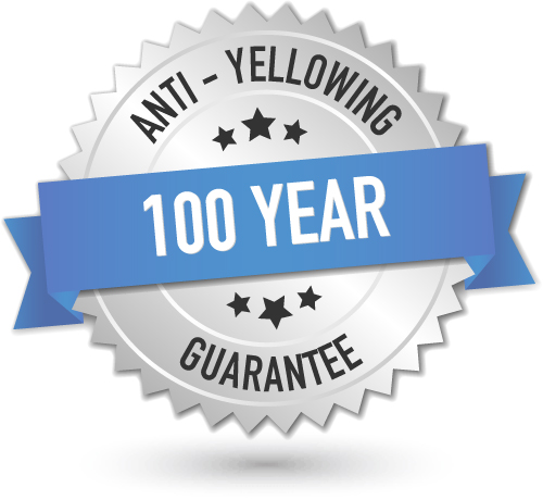 100 year Guarantee logo