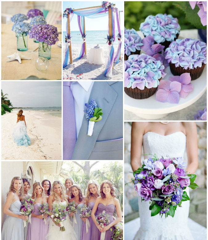 Color Ideas For Weddings: Top Wedding Color Swatches